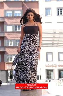 nayantara in strapless dress latest pics