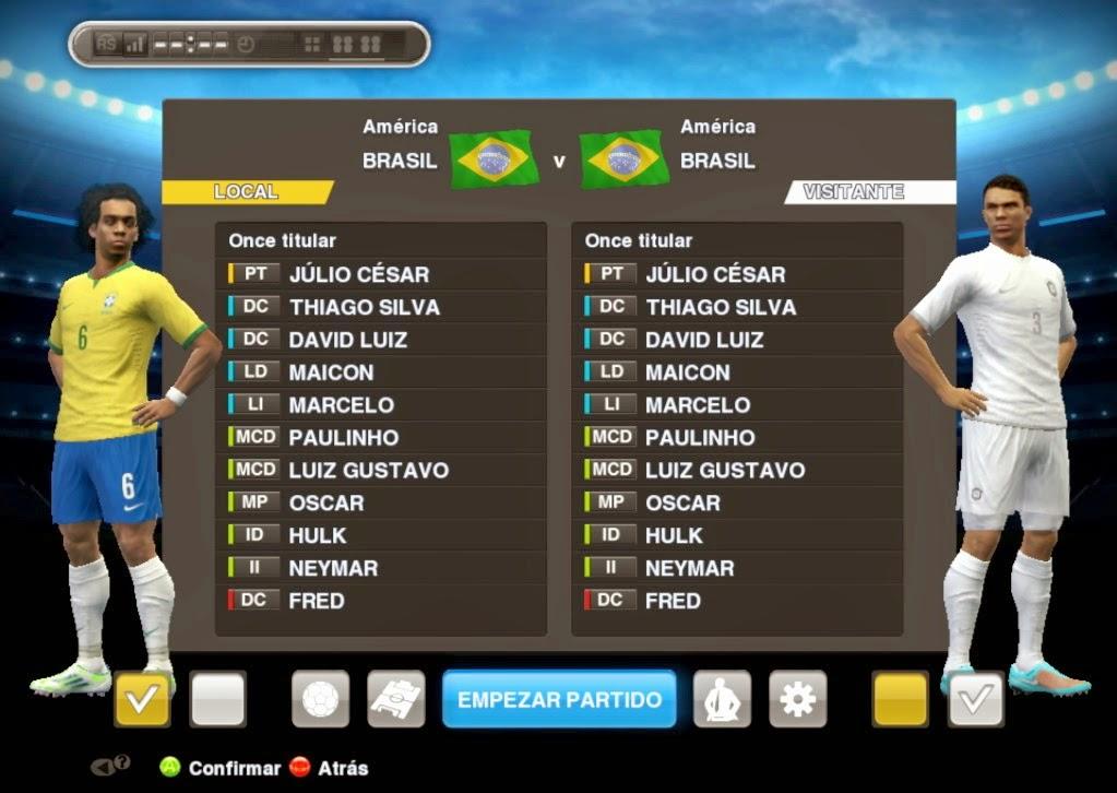 Update Kostum Tim Nasional untuk PES 2013