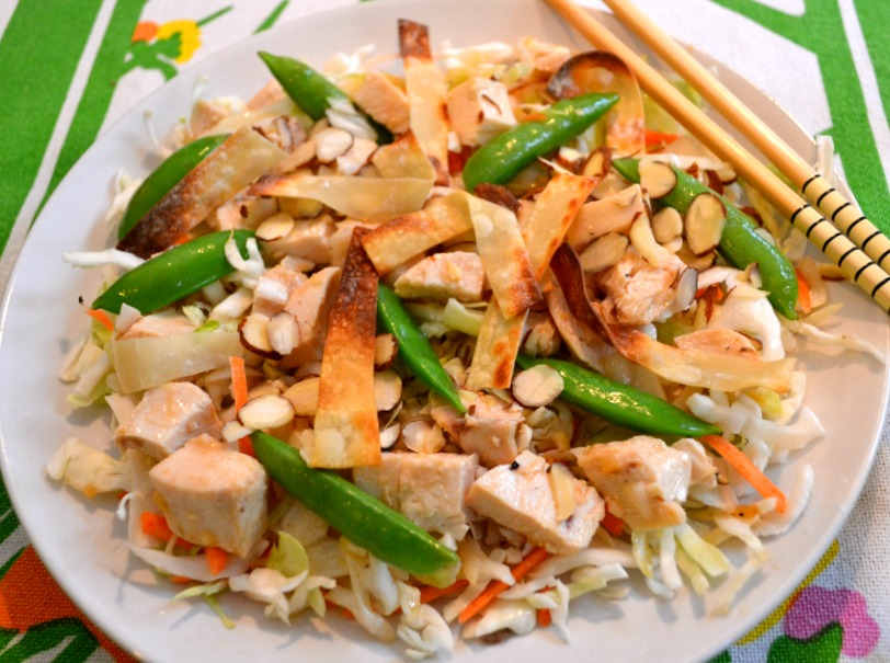 Chinese Chicken Salad. Lucy Mercer/A Cook and Her Books