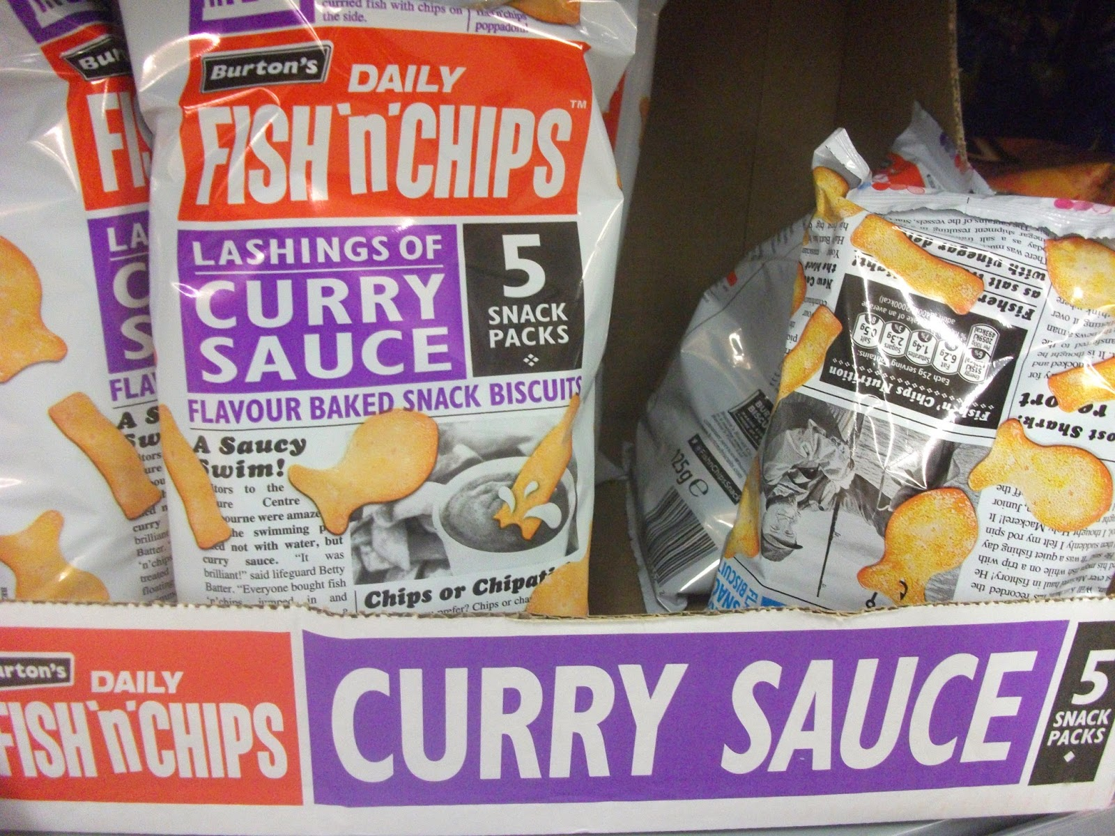 Spotted in shops maryland mix 39 ems cadbury cola mini for Fish and chips sauce
