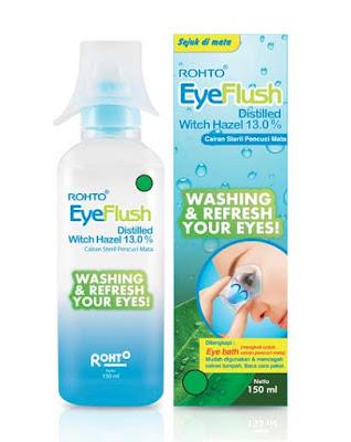 Rohto Eye Flush Cairan Pencuci Mata