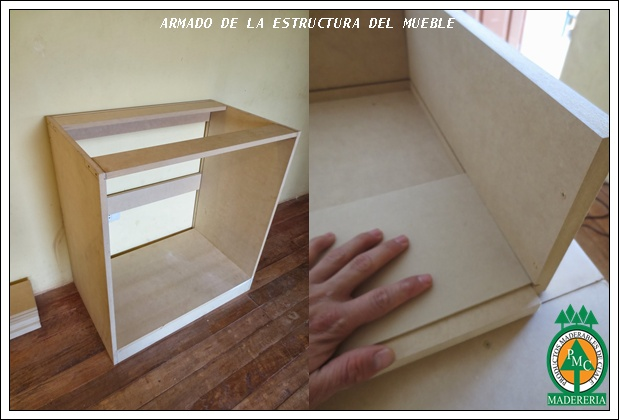 Productos maderables de cuale como hacer una c moda con mdf for Armado de muebles en mdf