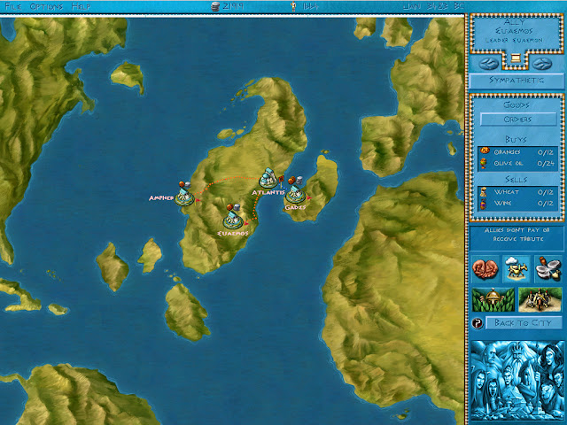 Poseidon: Master of Atlantis - Continental Screenshot