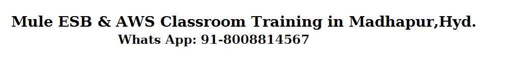 WSO2 Training,Mule ESB Training,  Jboss Fuse ESB Training,SOA,BPM,OSB Online Training in Hyderabad 