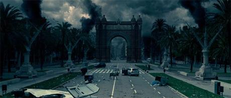 Una Barcelona devastada en Los Últimos Días