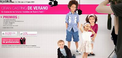 CASTING INFANTIL TAO VERANO 2011