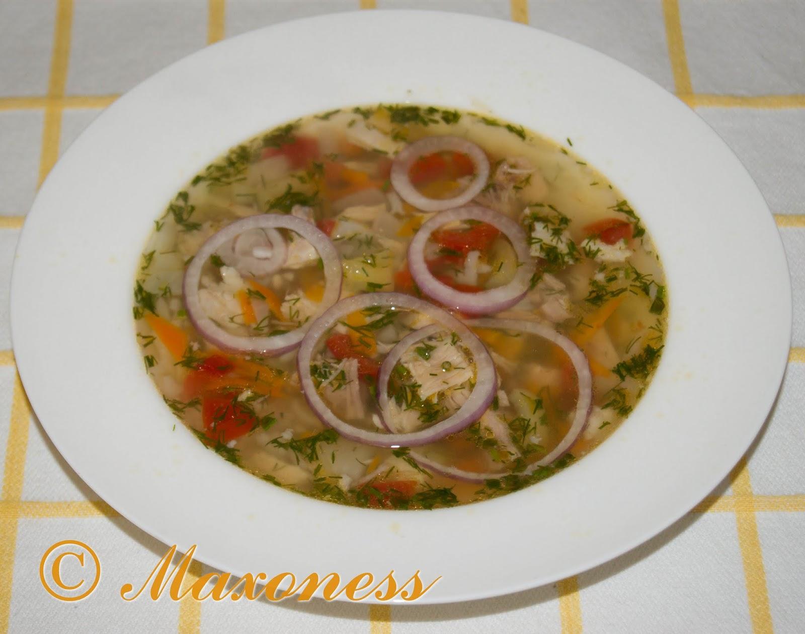 Суп по-краснодарски. Русская кухня.