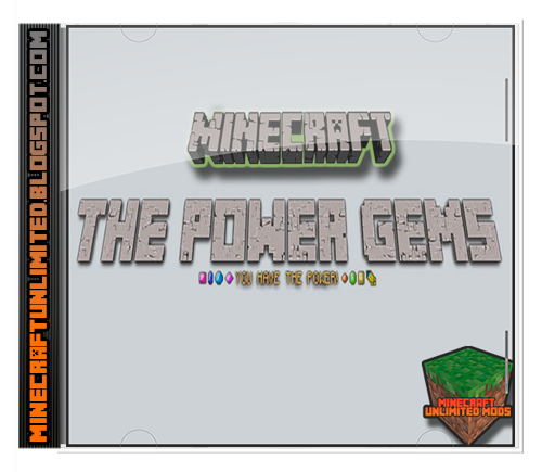 The Power Gems Mod Minecraft