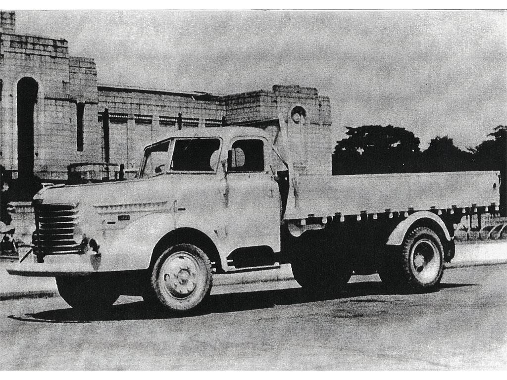 Hino TH10 Truck, Japonia, lata 50, drogi, samochód ciężarowy japoński