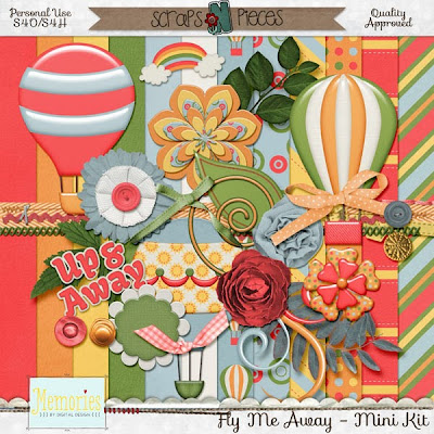 Fly Me Away by Memories by Digital Design & A Freebie!