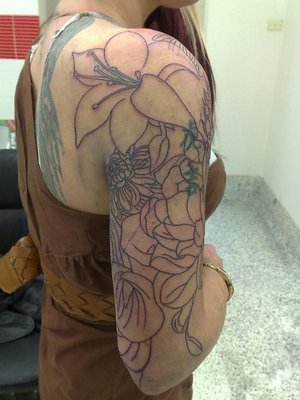 Sleeve Tattoos on Halaah Io  Half Sleeve Tattoo Designs For Girls