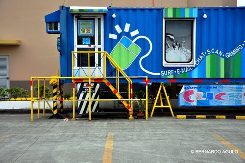 Container Internet Cafe