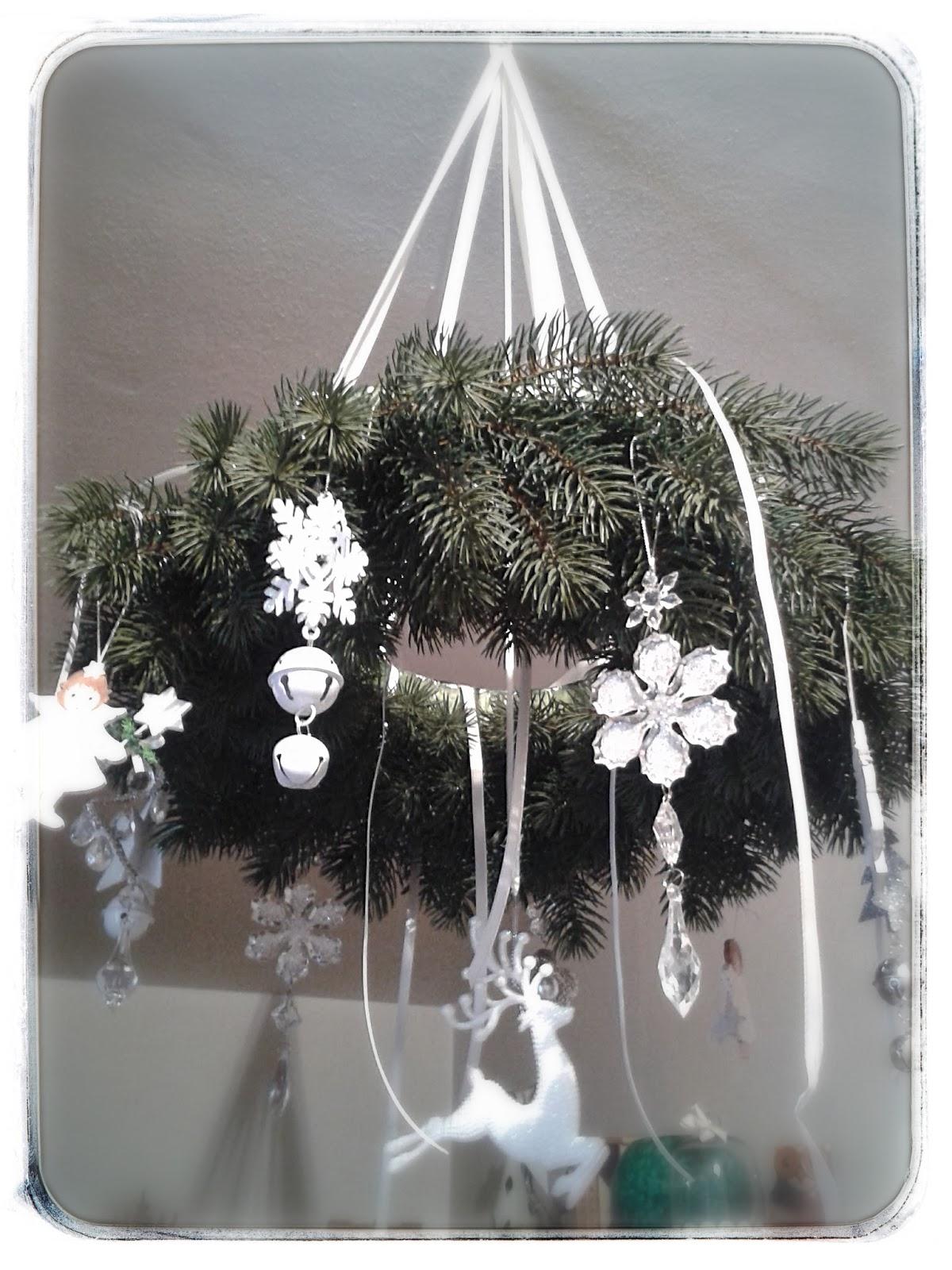 Decorazioni natalizie da appendere al soffitto disegni for Decorazioni natalizie in legno da appendere