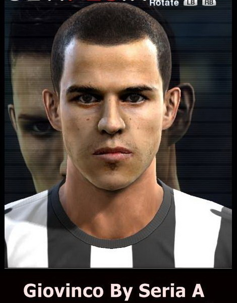 Download Face Giovinco PES 2013 by Serie A | Turbobit