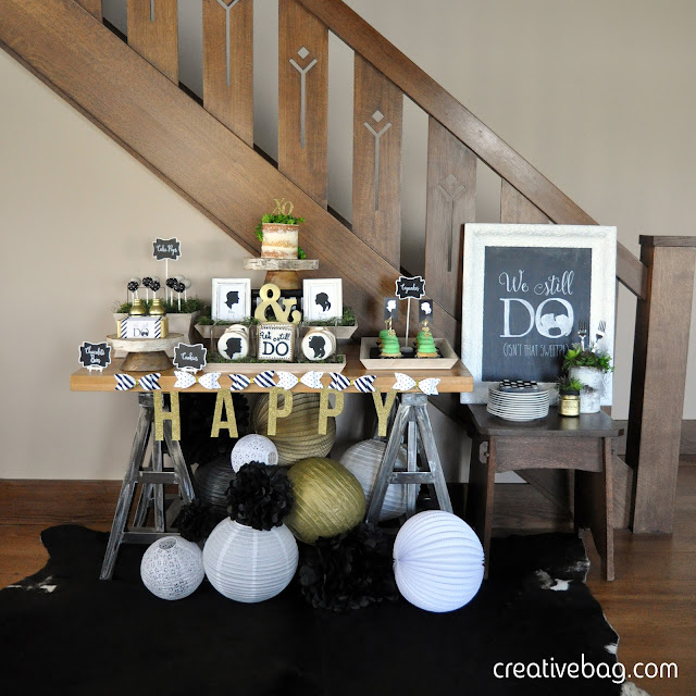 throw an anniversary party - you can do it yourself ... part one of three posts | Lorrie Everitt for Creative Bag