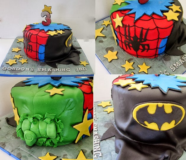 Cakesor Something Like That Super Hero Birthday Cake The Hulk