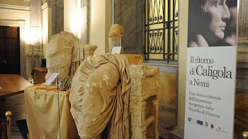 La estatua de Calígula.