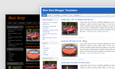 Best Serp Blogger Template