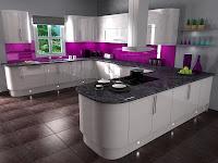 3d model kitchen vray