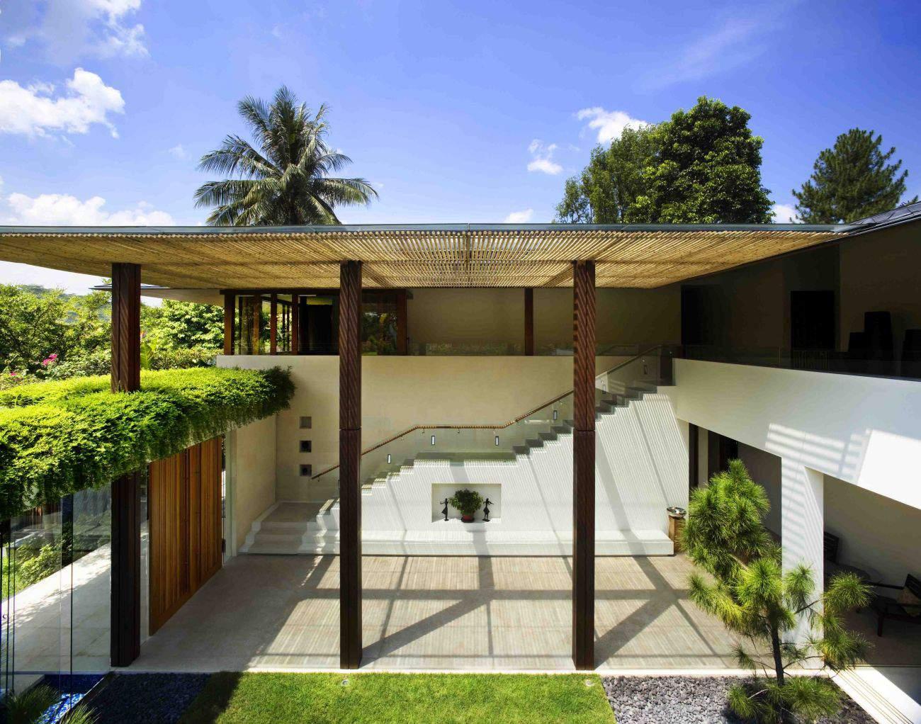 Contemporary tropical house tanga house modern home for Modern tropical house plans