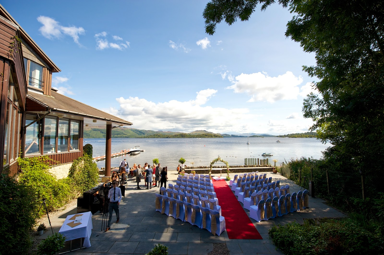 Lodge on the Loch Lomond wedding photography