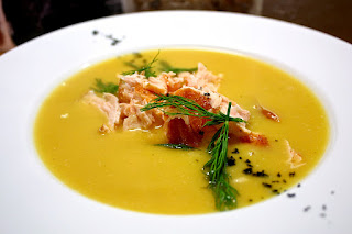Salmon & Sweet Potato Soup