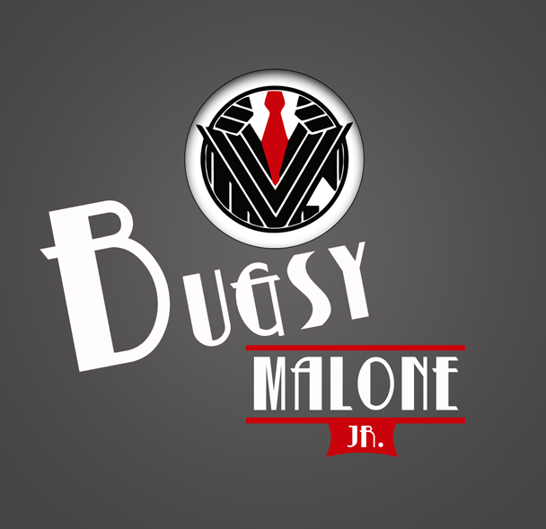 Image result for bugsy malone jr. logo artwork