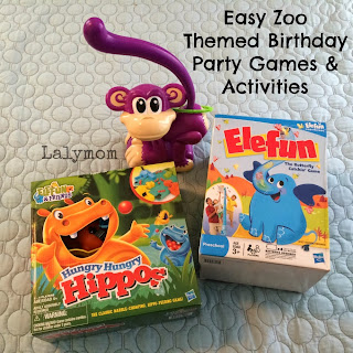 Easy Zoo Theme Birthday Party Ideas LalyMom