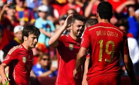 Australia vs Spanyol