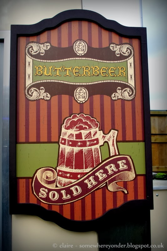 Butterbeer - Harry Potter Warner Bros Studio Tour, Watford