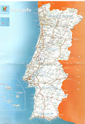 Separamos o mapa de Portugal para planejarmos a viagem que pretendíamos . (mapa de portugal )