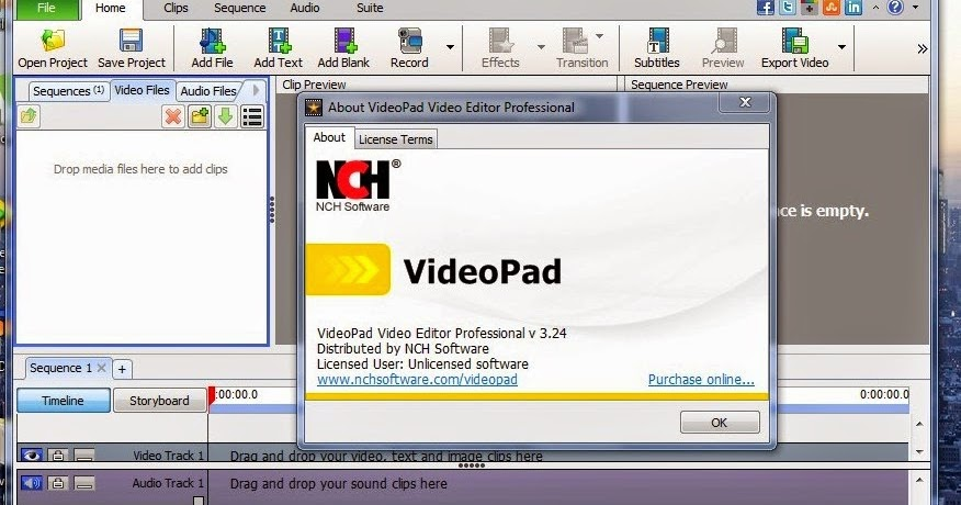 videopad video editor crack  for pc