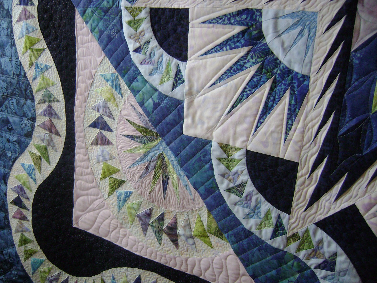 Quilting is more fun than Housework...: A Glorious Finish : define quilted - Adamdwight.com