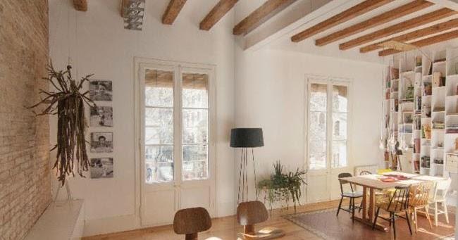Marzua un cl sico piso del eixample de barcelona for Decoracion piso eixample