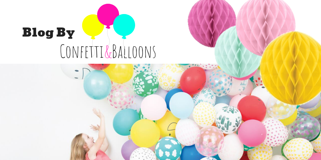 Confetti & Balloons Blog