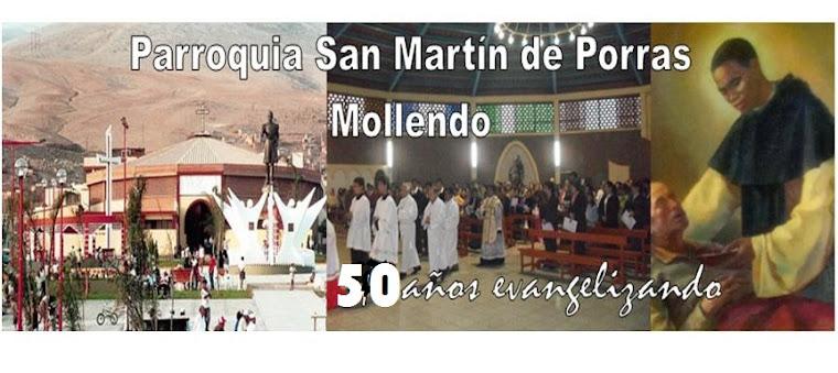 Año santo 2013: 50 años de evangelización de nuestra Parroquia San Martin
