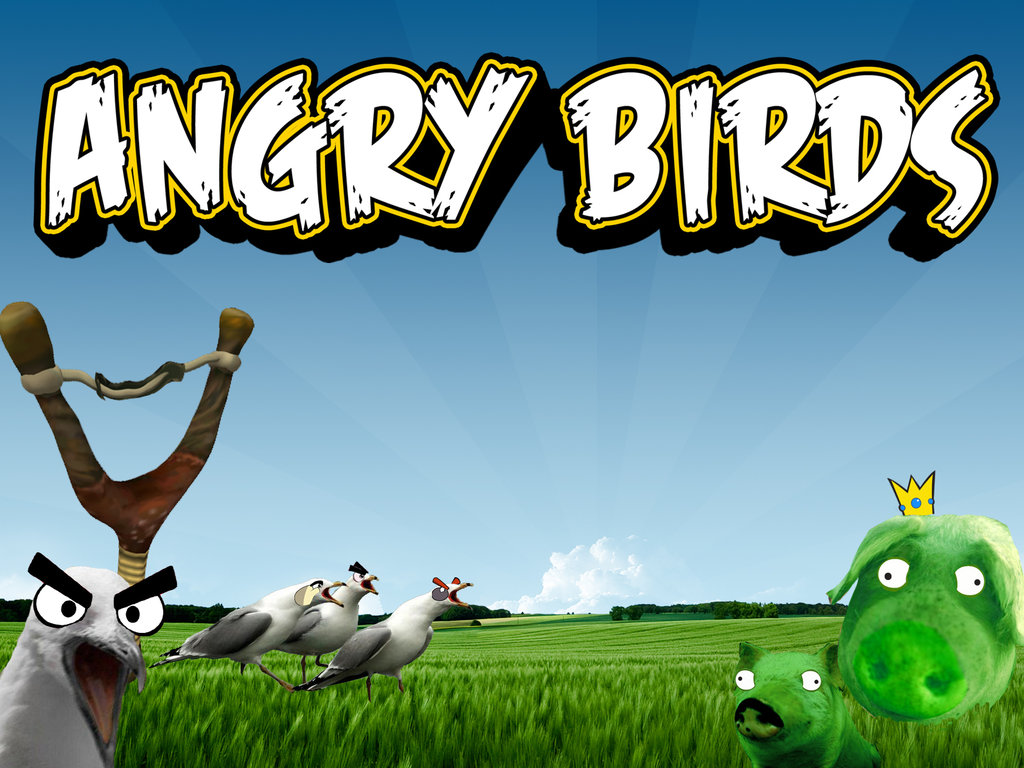 Angry Birds Wallpaper, PowerPoint Background Free Download