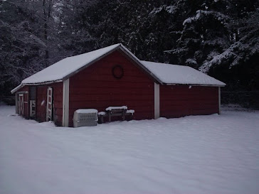 Snowy Barn