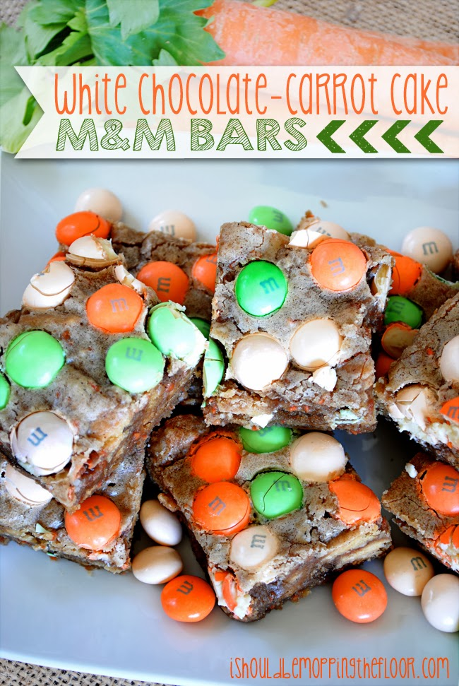 These White Chocolate-Carrot Cake Bars are the perfect Easter dessert ...