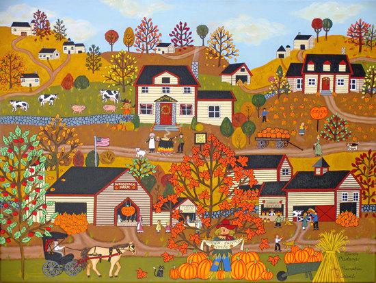 Americana Folk Art Decor