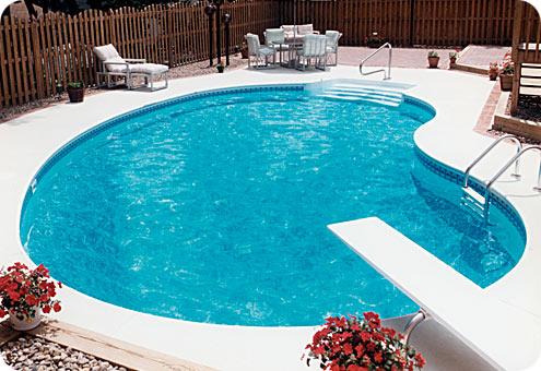 desain kolam minimalis