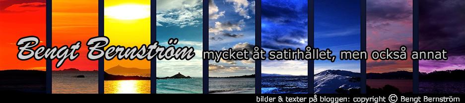 Bengt Bernström bloggar