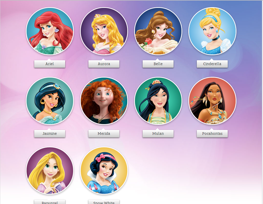 Disney Princess Names The Forged Fore...