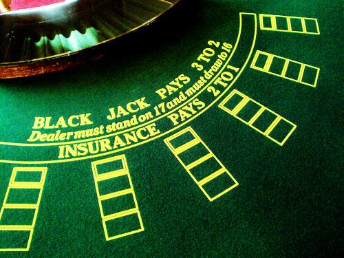 Τραπέζι για βασική στρατηγική Μπλακ-τζακ