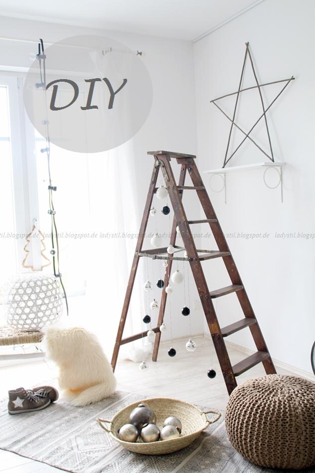 DIY Alternative zum Weihnachtsbaum