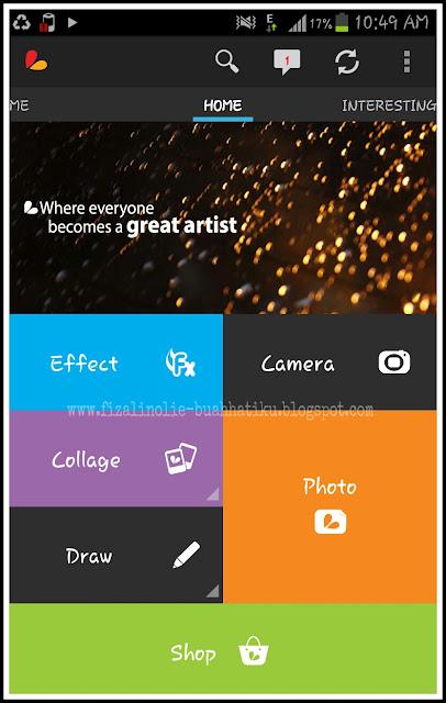 cara buat watermark mudah guna handphone,
