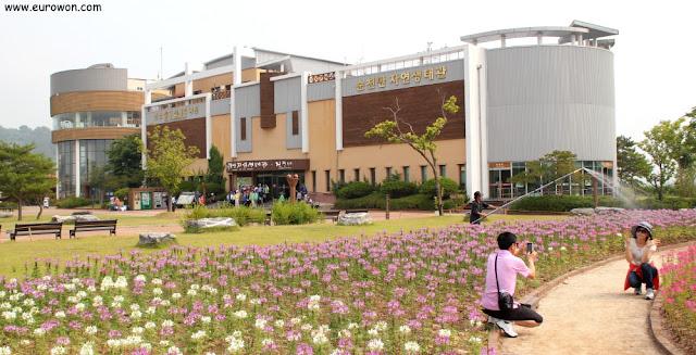 Edificios del complejo de la Bahía Suncheonman