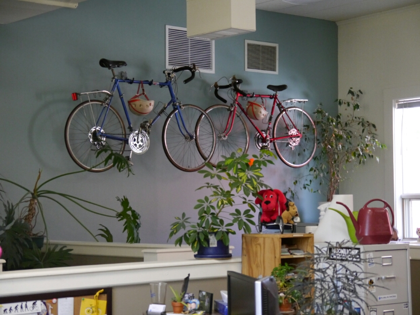 more bikes on the wall