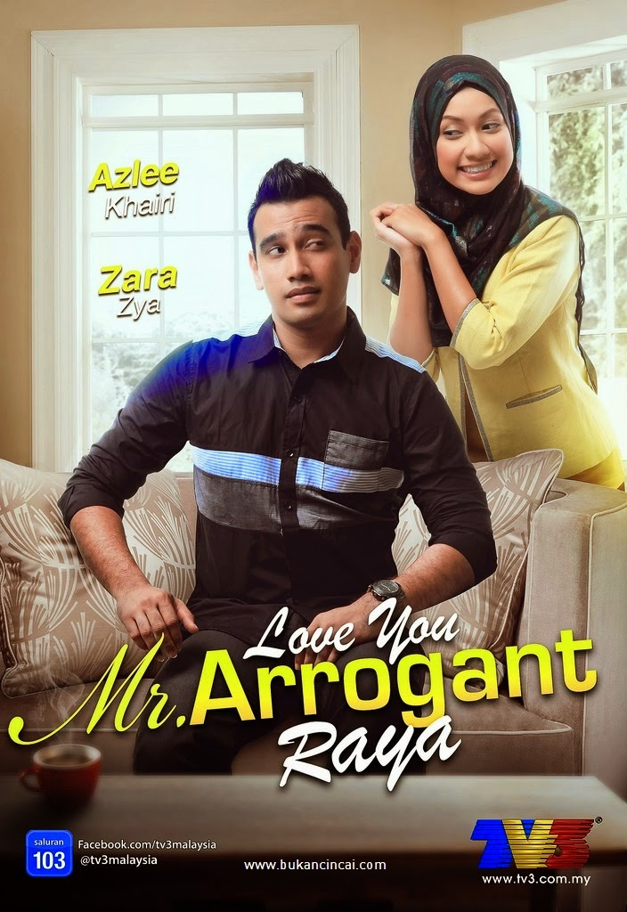 Tonton Love You Mr. Arrogant Telemovie Raya