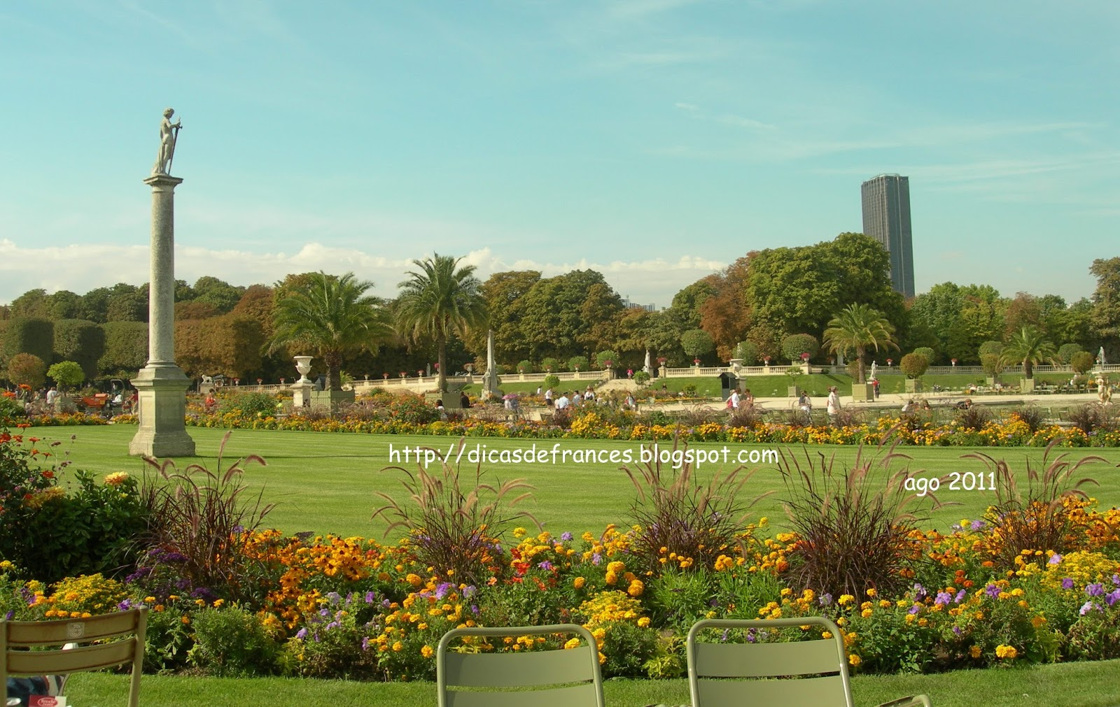 Dicas pr ticas de franc s para brasileiros os for Piscine jardin du luxembourg